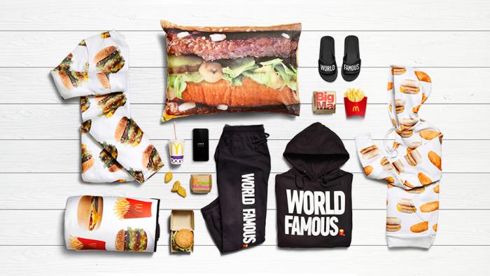 Макдоналдс одежда